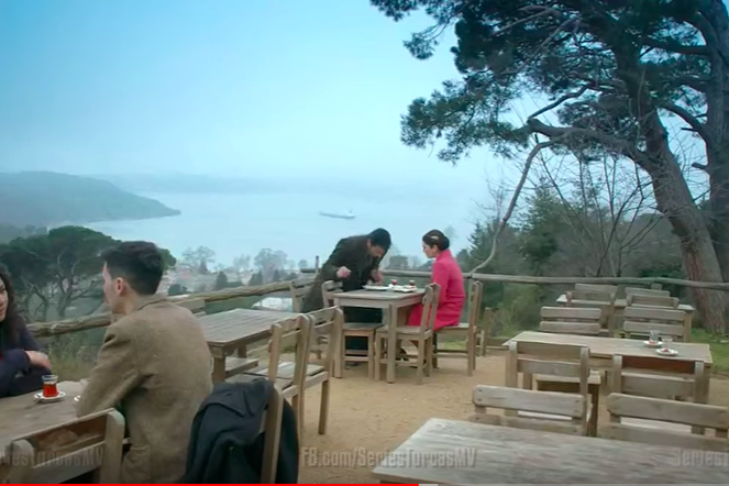 From Karadayi... Mahir and Feride's meeting location