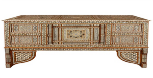 A Late 18th Century Turkish Mosaic Wedding Trunk