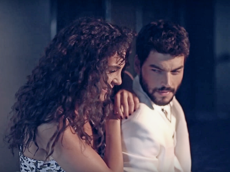 Dizi TV's Behind the Cosmo Photoshoot