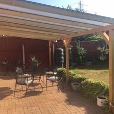 wood veranda