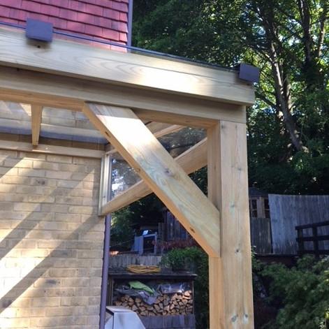 wood canopy