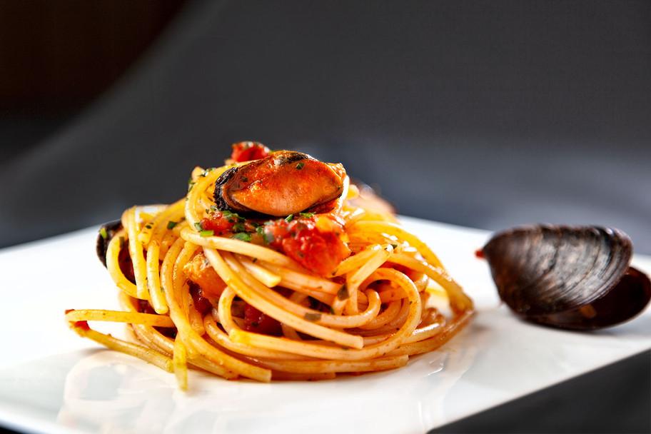 Spaghetti alle cozze.