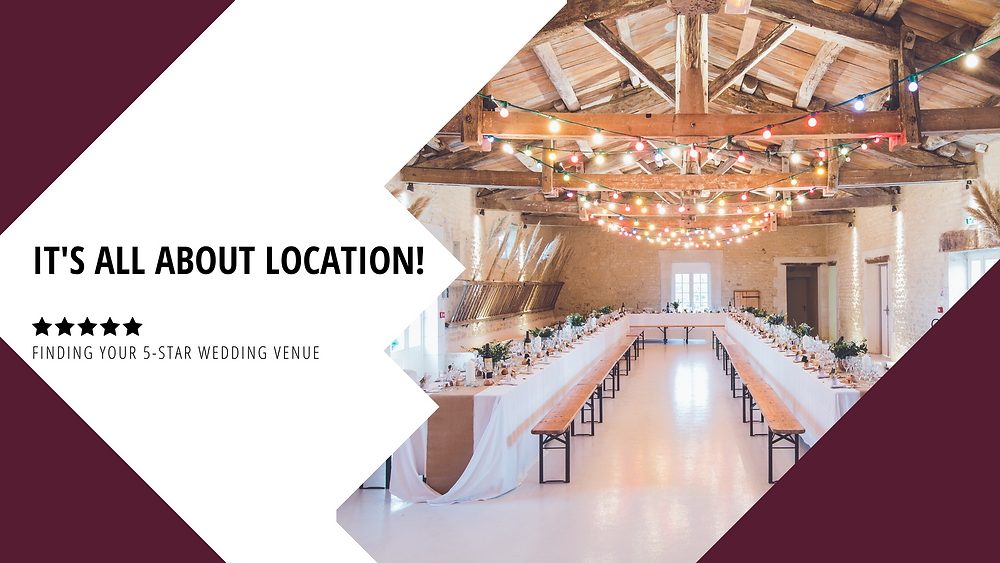 It's All About Location! Finding Your 5-Star Venue Blog Post