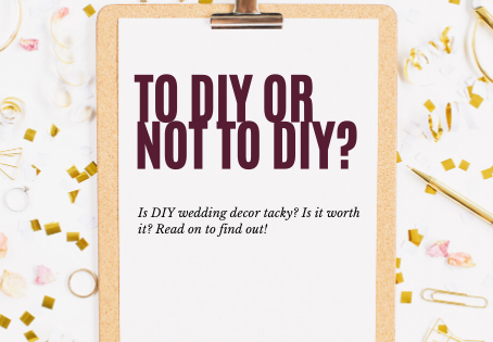 To DIY, or Not To DIY?