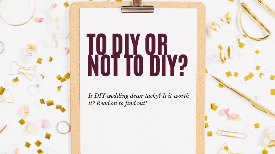 To DIY or Not to DIY? Blog Post