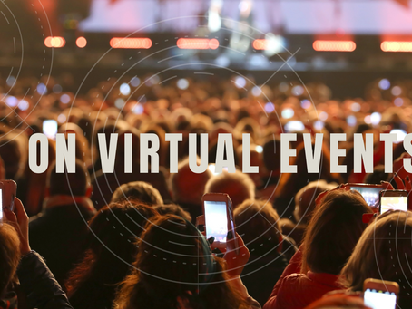 On Virtual Events