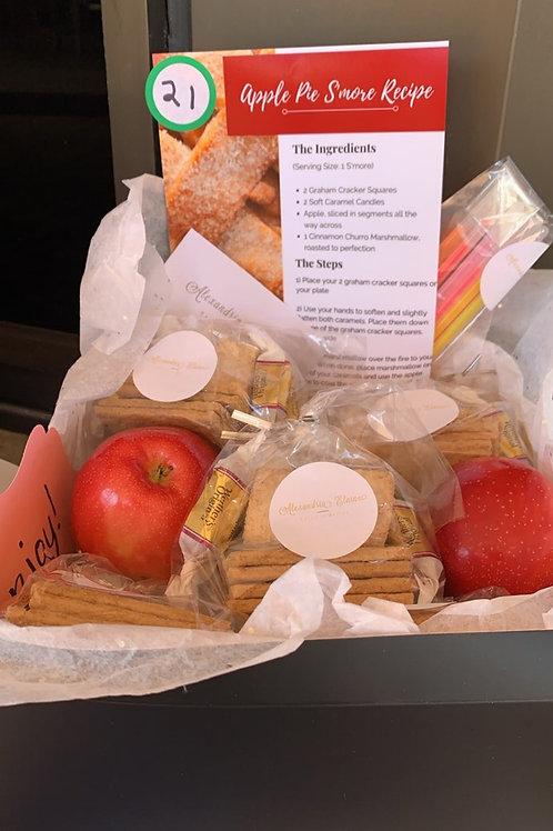 Caramel Apple Pie S'more Party Kit
