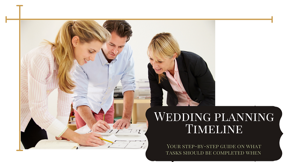 Wedding Planning Timeline: Your Step-By-Step Guide of What Tasks Should be Completed When Blog Post