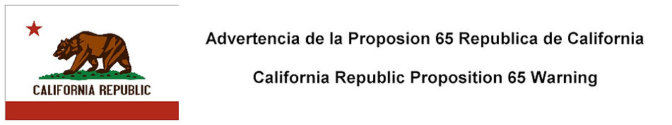 California Republic Proposition 65 Warning