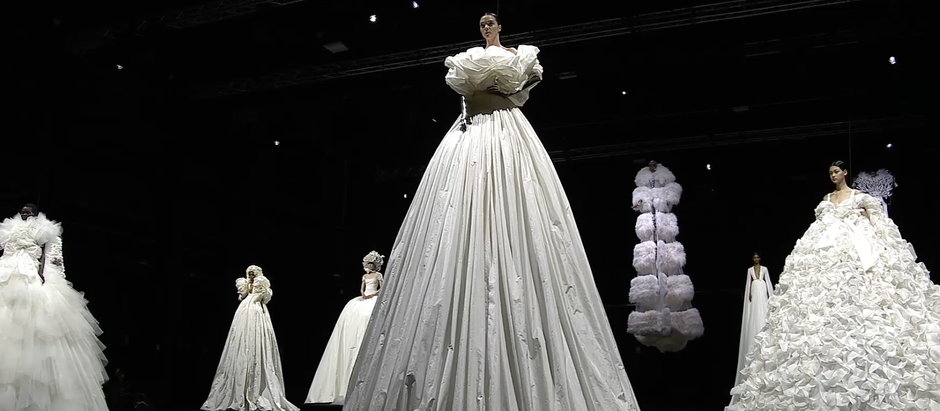 Valentino goes to new heights with autumn/winter 2020 couture show