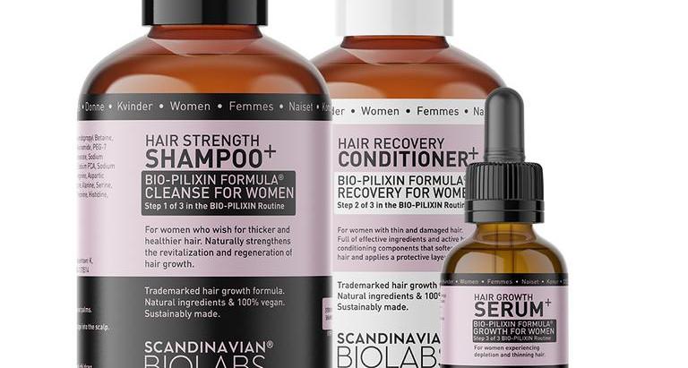The natural way to Hair Growth: Scandinavian Biolabs