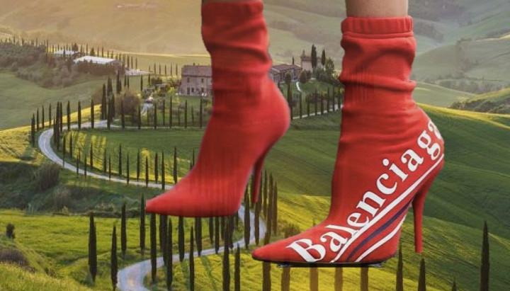 Balenciaga lands on the earth of craft