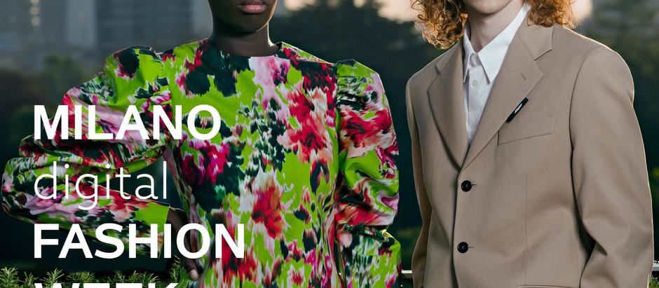 The first edition of Milan Digital Fashion Week
