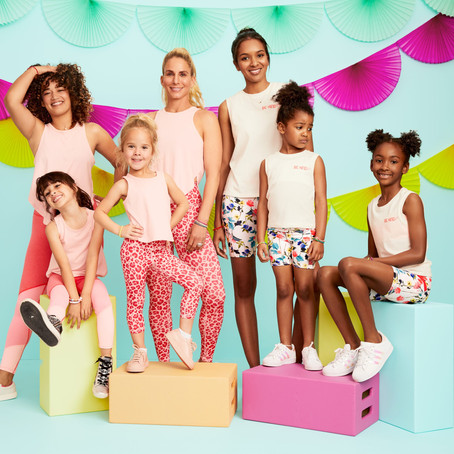 The New Fabletics Mother-Daughter Fitness Bundles Make Your Mini-Me a Reality