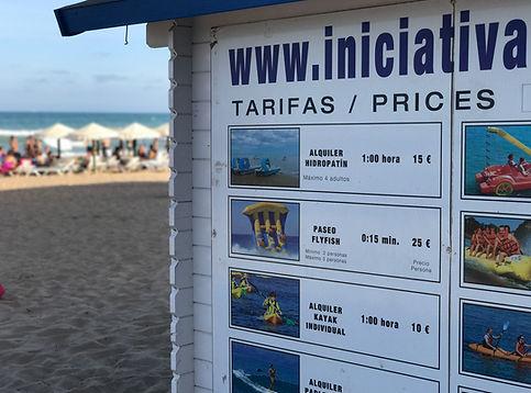 Summer Beach Activities Guardamar