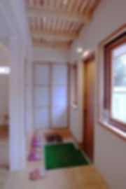 シューズクローク|エアコンのいらない家・千葉N邸