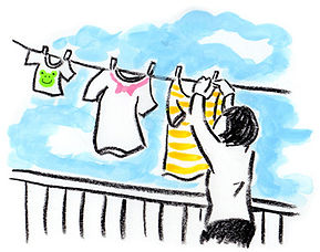 洗濯を機能的に