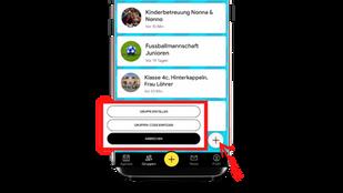 Eine WhatsApp-Gruppe für chronologisch geordnete Termine
