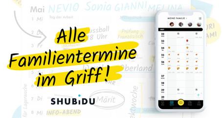 Medienmitteilung: Von der Küchenwand in die Hosentasche: SHUBiDU App lanciert den digitalen Familien