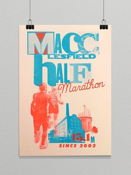 Macc Half Riso Print