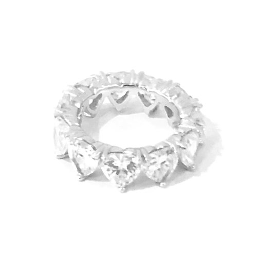 Heart Eternity Band Ring