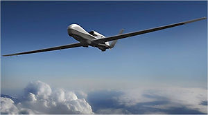Unmanned aerial vehicle called MQ9 Reaper