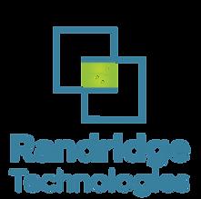 Randridge Technologies Logo Upright Blue