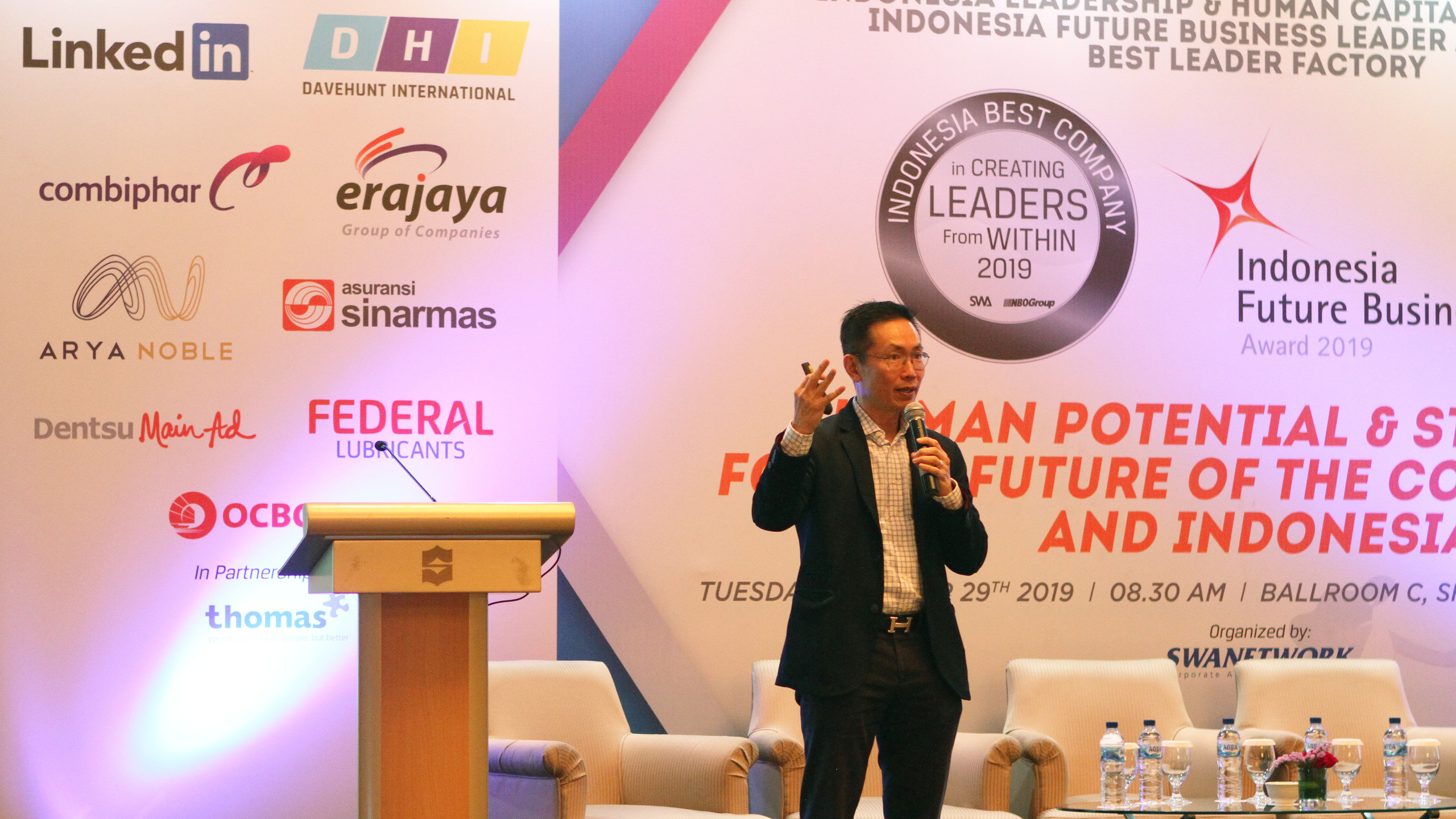 David Wongso, MD of Transearch Indonesia