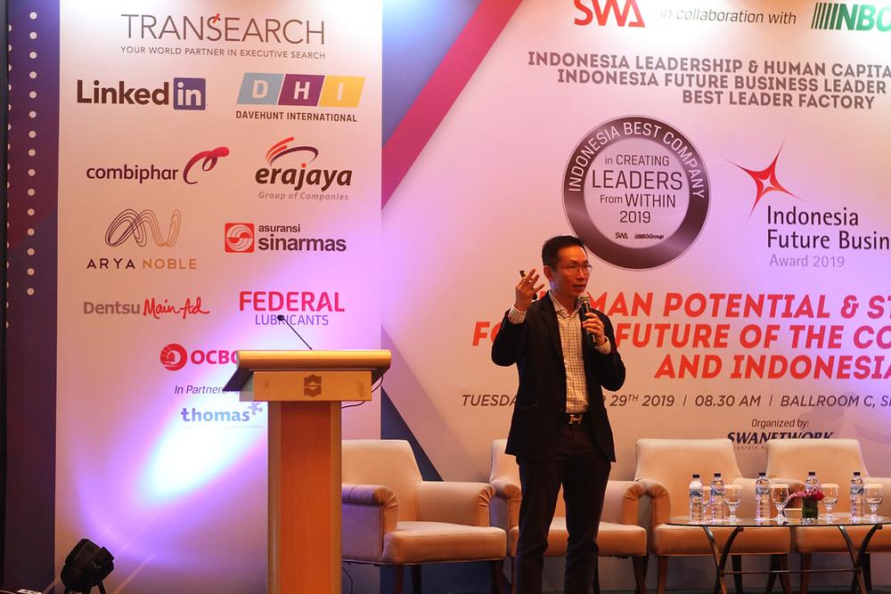 Foto: David Wongso, Managing Director Transearch International Indonesia (dok. Davehunt International)