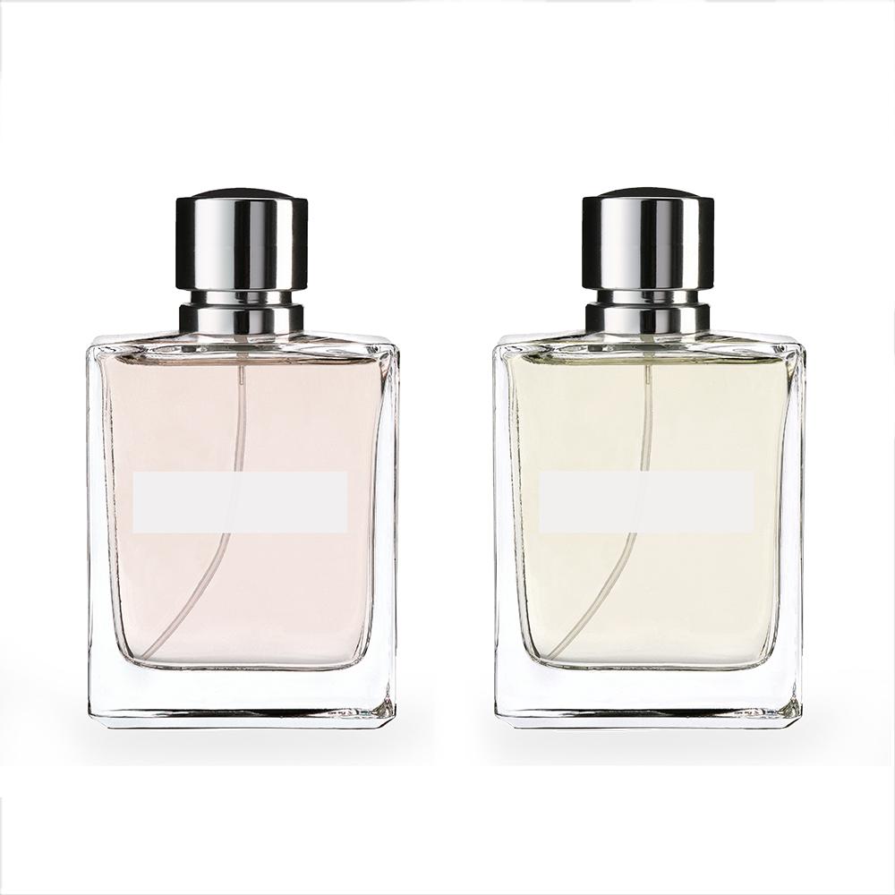 İki Parfüm Şişeleri