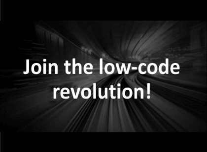 Join the low-code revolution!