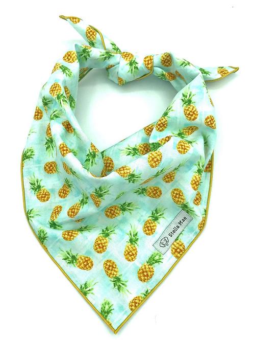 Stella Mae Pineapple Bandana