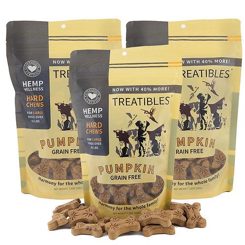 Treatibles Hemp Oil Treats (4 MG Pets over 50lb)