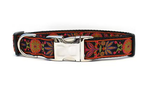 Diva Dog Metal Clasp Dog Collars (Size Small)