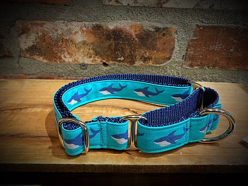 Shark Attack Martingale Style collars