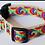 Thumbnail: Green Bean Hemp Dog Collar HIP Tie Dye (1 inch width)