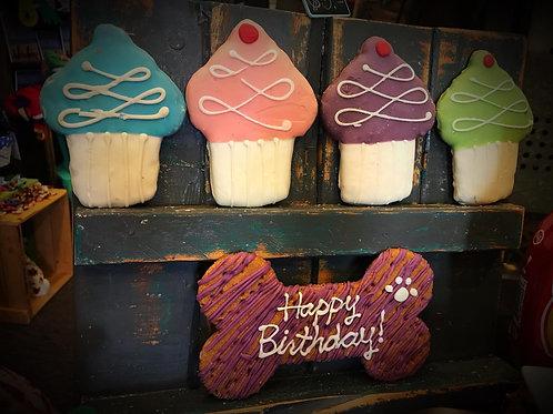 Birthday Treat themed cookies