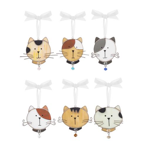 Cool Cats - Suncatcher Ornaments