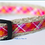 Thumbnail: Green Bean Hemp Dog Collar Pretty in Pink Jr  (5/8 inch wide)