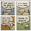 Thumbnail: Dog Speak Coaster Set (2) designs