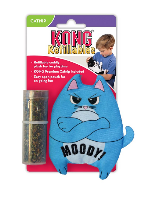 Kong Refillables Purrsonality Cat Nip Toys
