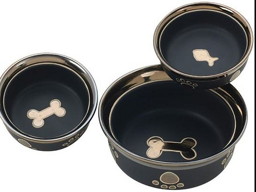 Ritz Copper Ring Dog/Cat Bowls