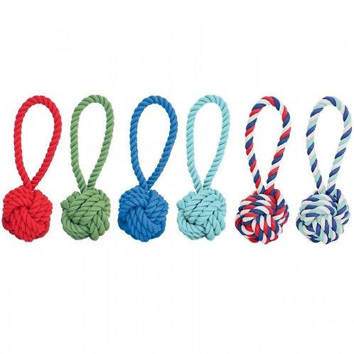 Cotton Rope Tug & Toss Dog Toy (2 sizes)