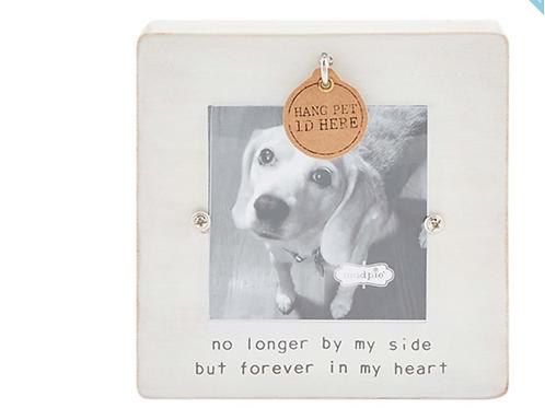 Pet Tag Memorial Frame
