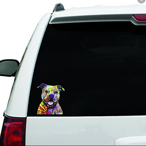 Dean Russo Car Stickers (Brees H-Z)