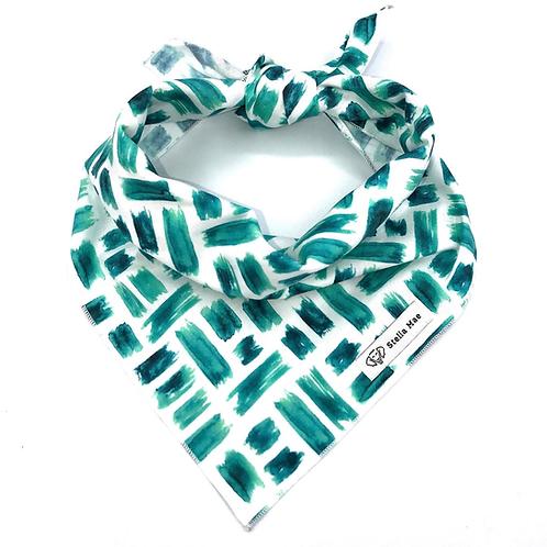 Stella Mae Emerald Abstract Bandana