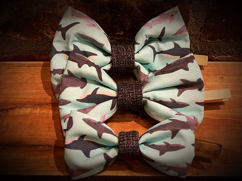 Coastal themed Bow Ties (3 sizes)