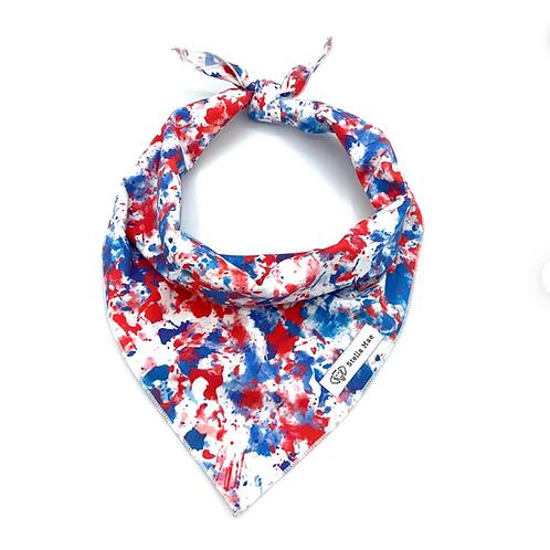 Americana Tie Dye Bandana