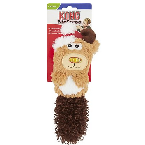 KONG Holiday Kickeroo Reindeer Toy