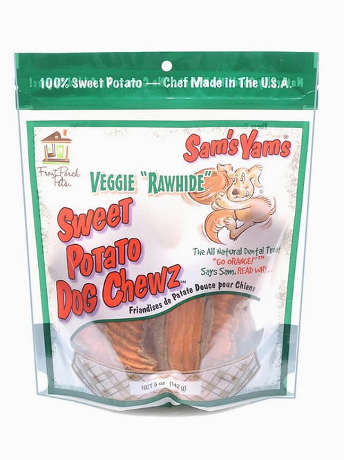 Sam's Yams Sweet Potato Dog Chewz 5 oz